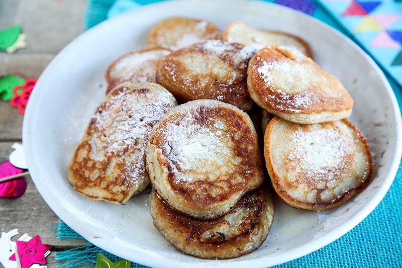Tortillas de Carnaval - Canarian Pancakes (Vegan)