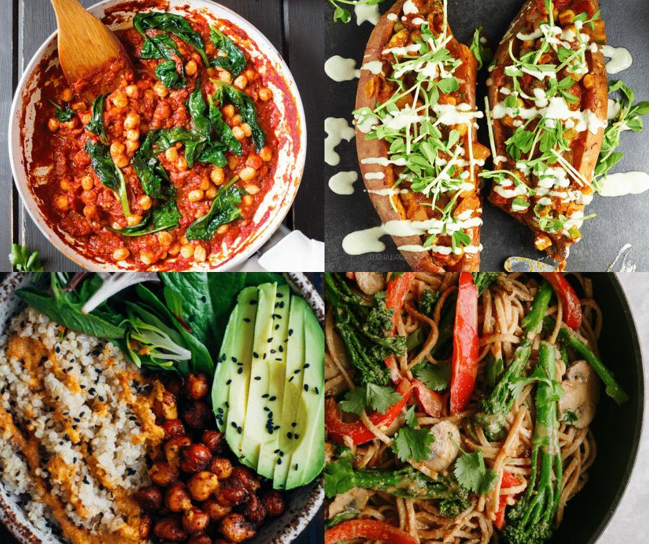 19 Easy Vegan Weeknight Dinners