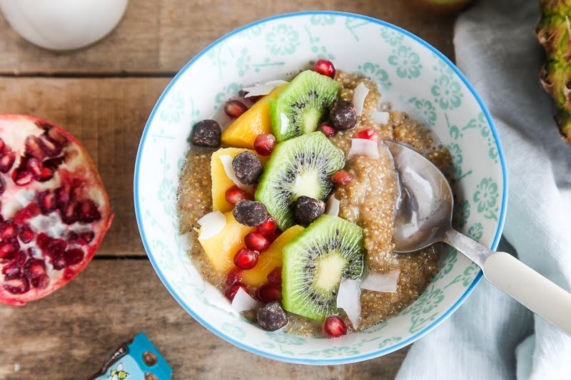 Coconut Quinoa Porridge (vegan, gluten-free)