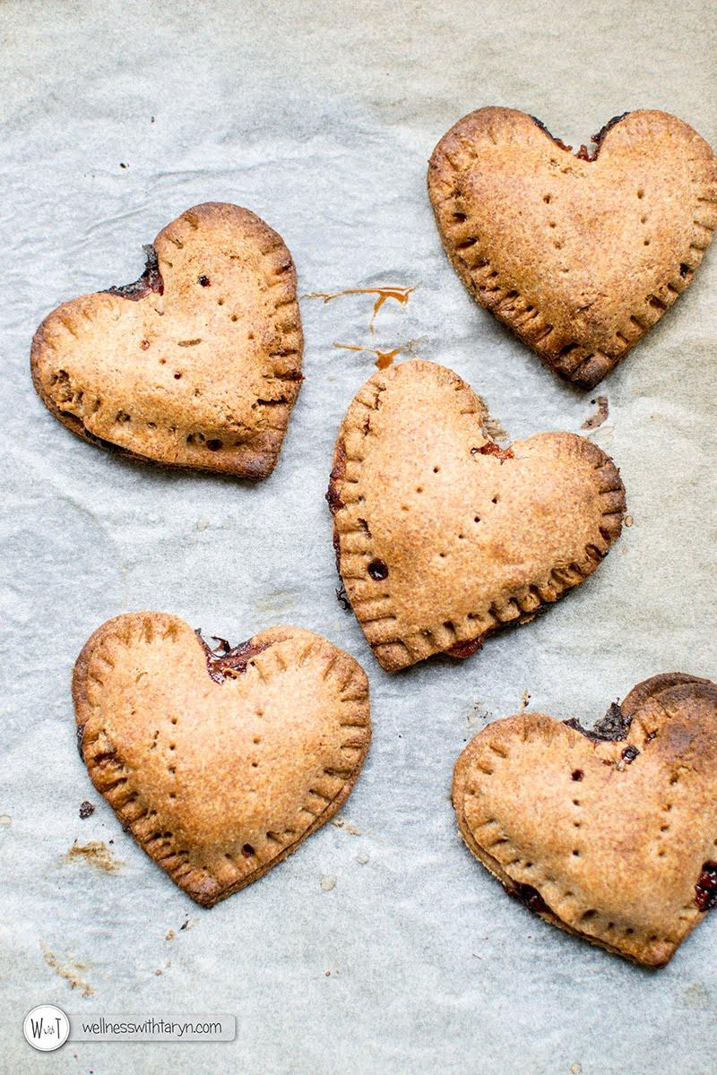 Apple Pecan Spelt Pastry Pies via wellnesswithtaryn.com