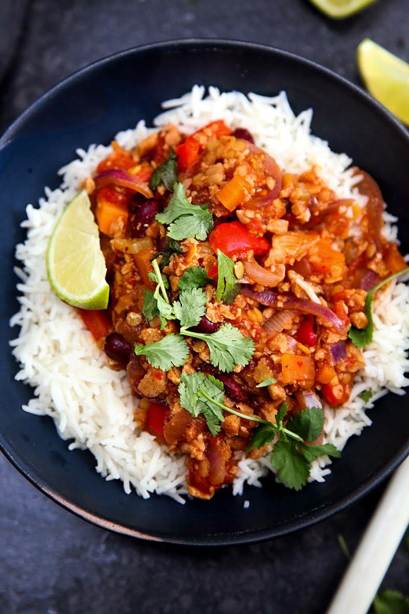 Easy #Vegan Chilli Sin Carne #vegetarian #dinner