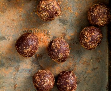Chocolate Omega Bliss Balls
