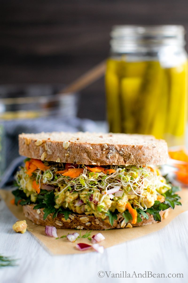 15 Easy and Healthy Vegan Packed Lunch Recipes