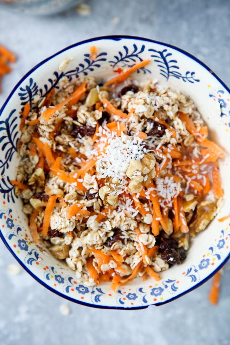 Carrot Cake Muesli (Vegan + GF)