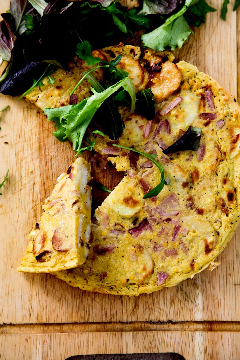 Spanish Omelette Vegan Gf Wallflower Kitchen