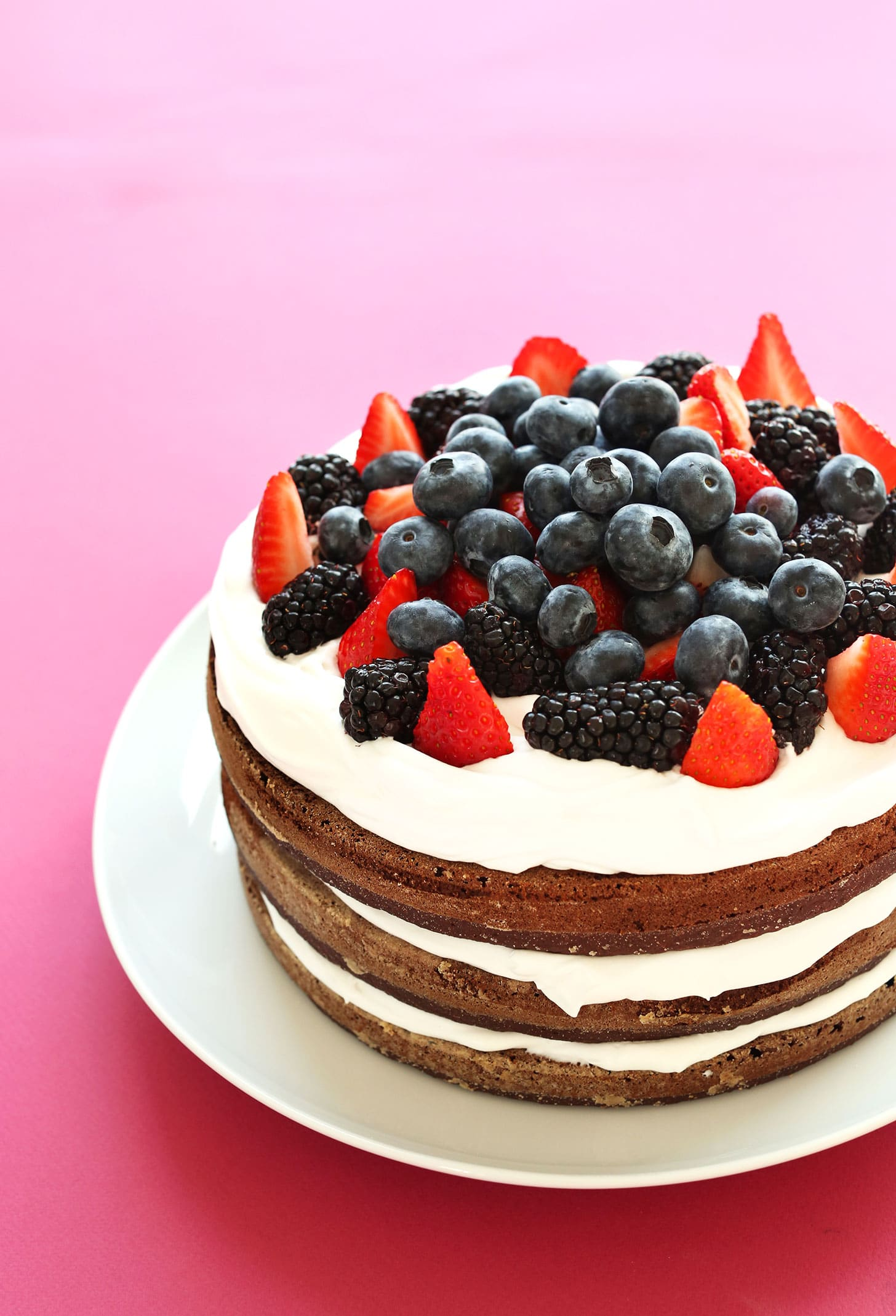 Vegan Chocolate Birthday Cake Gluten Free