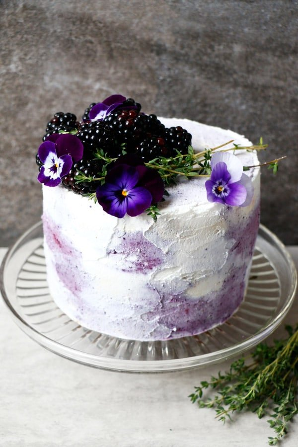 28 Birthday-Worthy Vegan Layer Cakes - Wallflower Kitchen