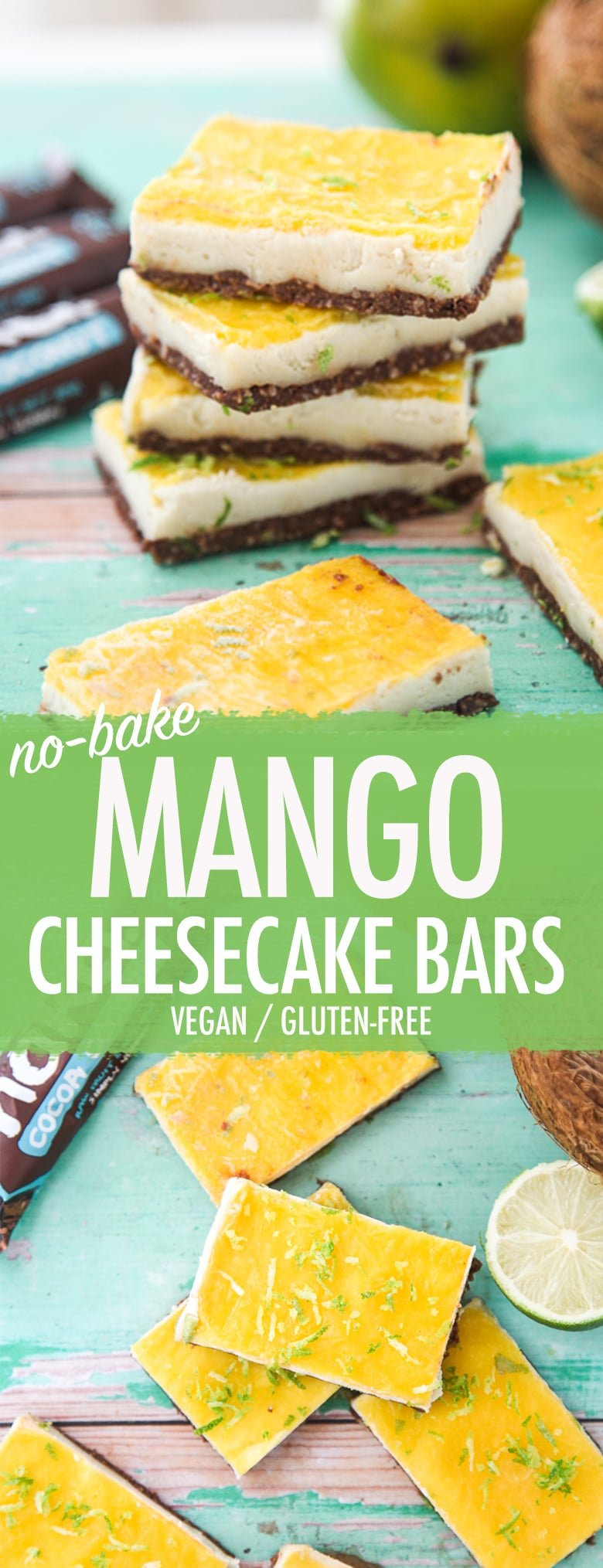 Nakd Mango Cheesecake Bars