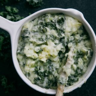 Colcannon: Dairy-free Irish Mashed Potato with Greens