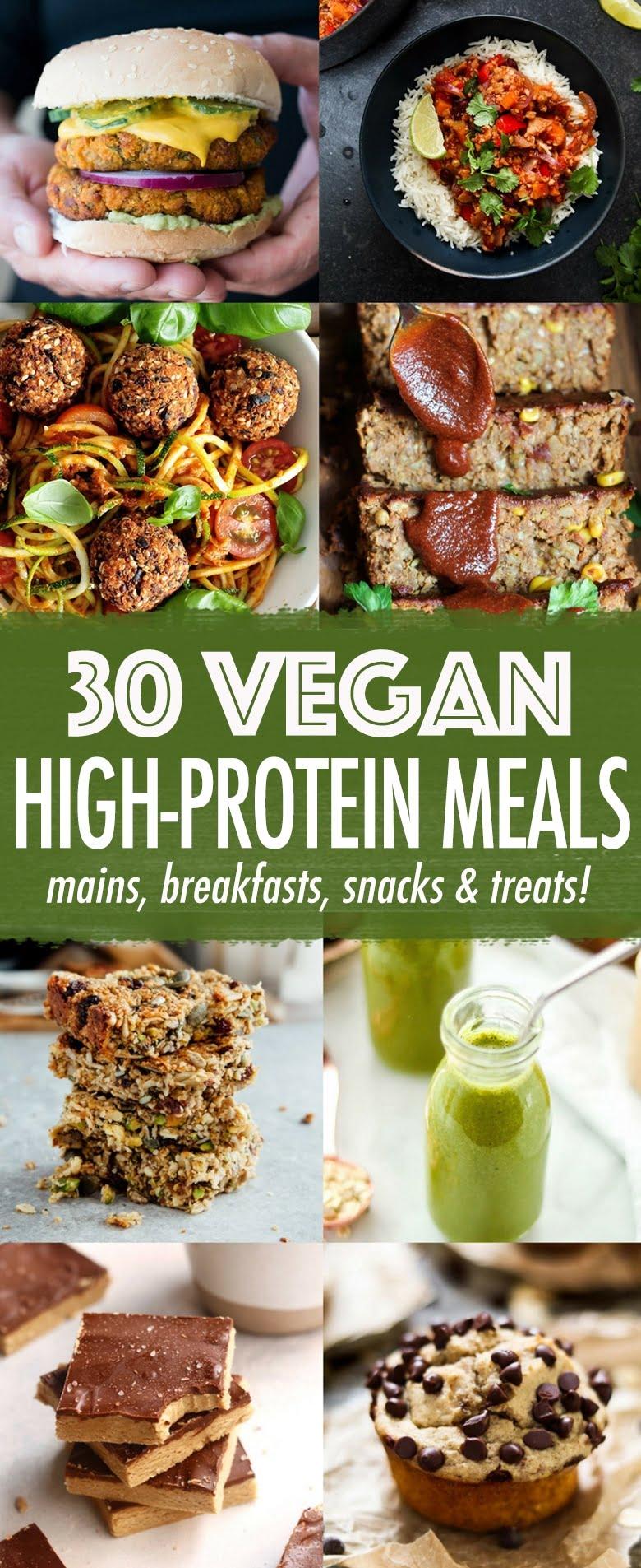 30 High Protein Vegan Meals Wallflower Kitchen