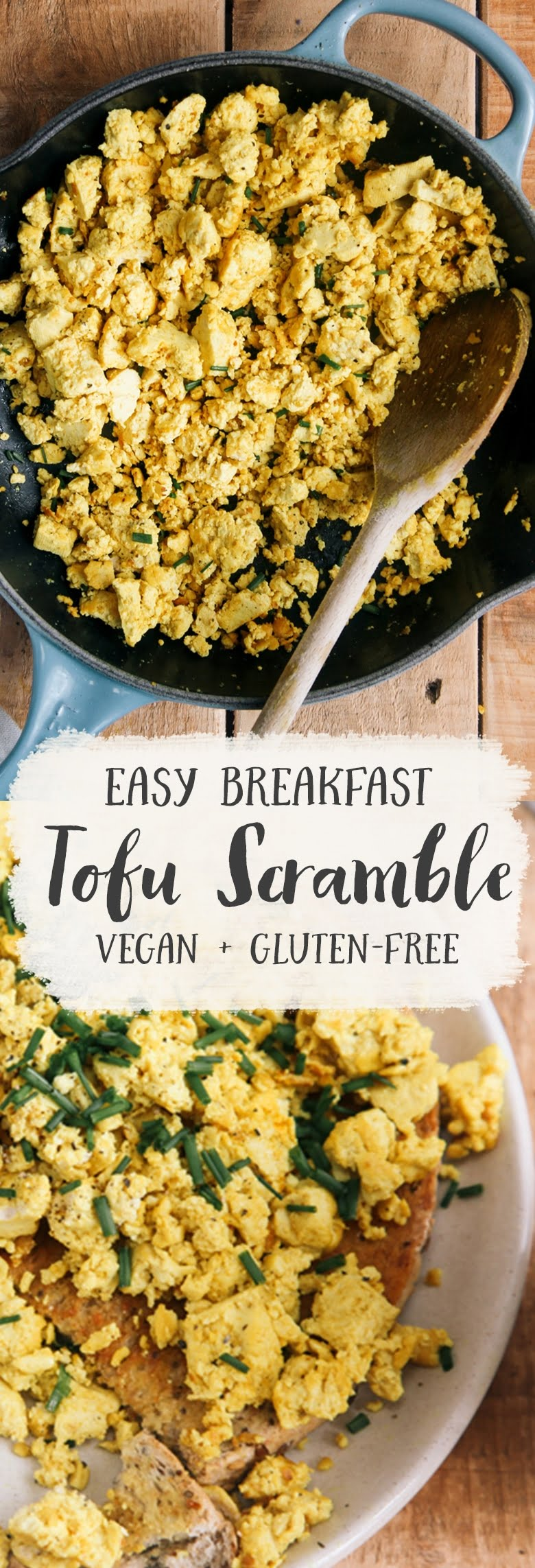 Tofu Breakfast Scramble #vegan #vegetarian #breakfast #glutenfree #grainfree