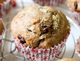 Christmas Morning Muffins #vegan #dairyfree #eggless #christmas