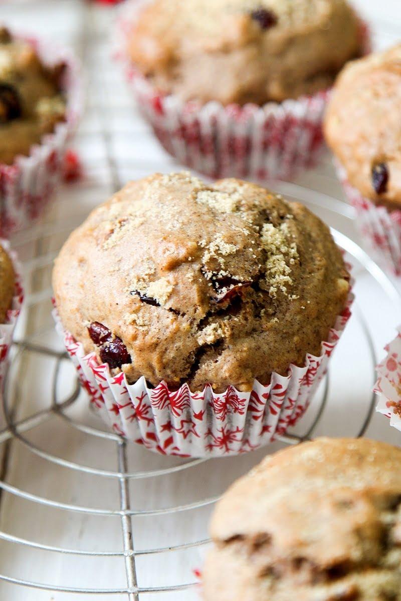 Christmas Morning Muffins #vegan #dairyfree #eggless #christmas