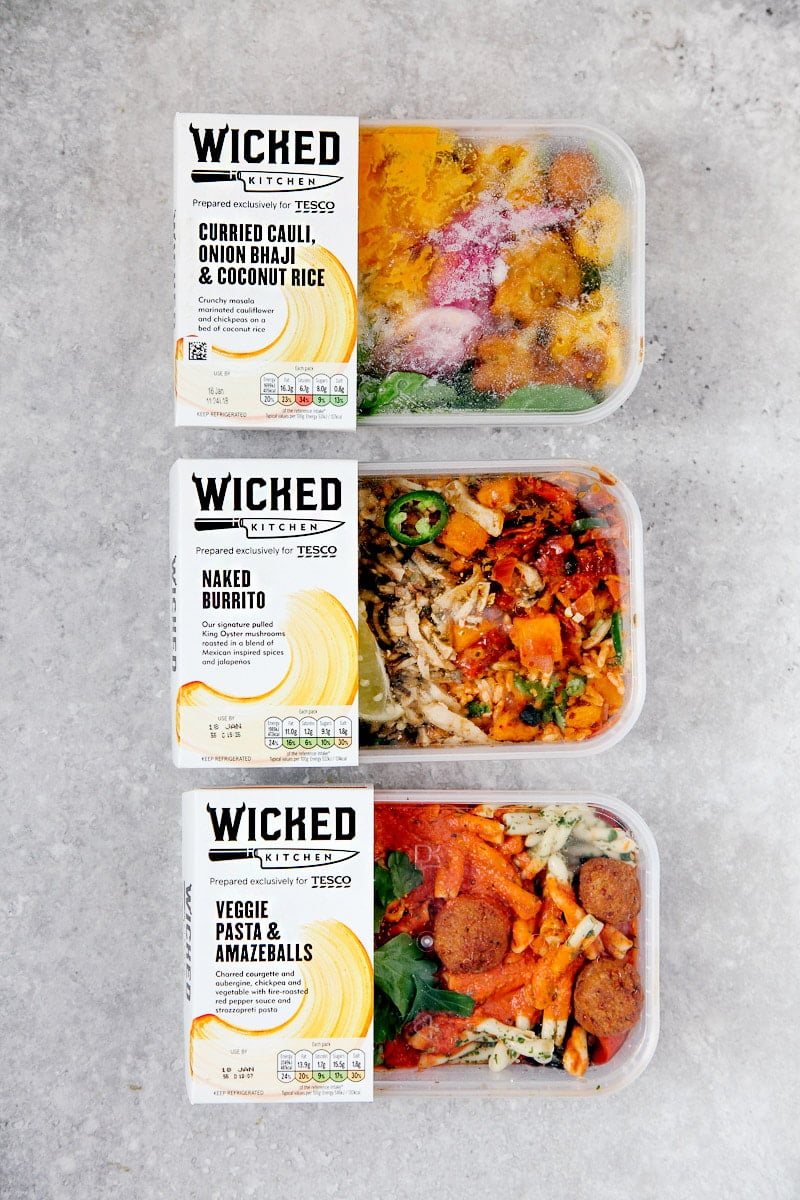 Tescos New Wicked Kitchen Vegan Range Review Wallflower