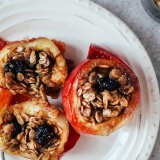 15-minute Crock-Pot Baked Apples! (Vegan + GF)