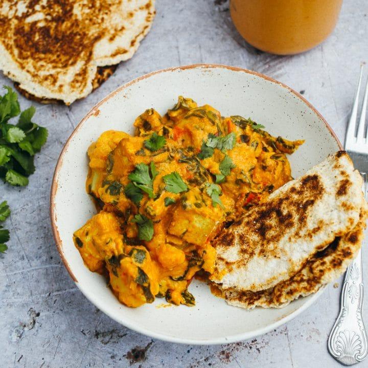Korma Curry Sauce (Vegan + Low Carb)