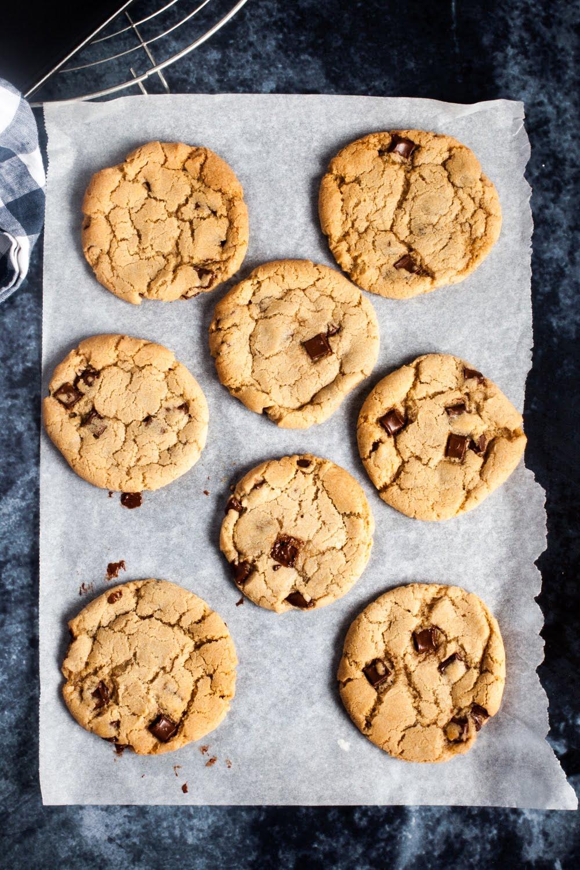 Copycat Vegan Millie's Cookies (Chocolate chip)