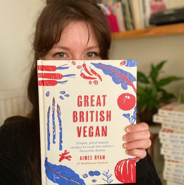 'Great British Vegan' cookbook by Aimee Ryan