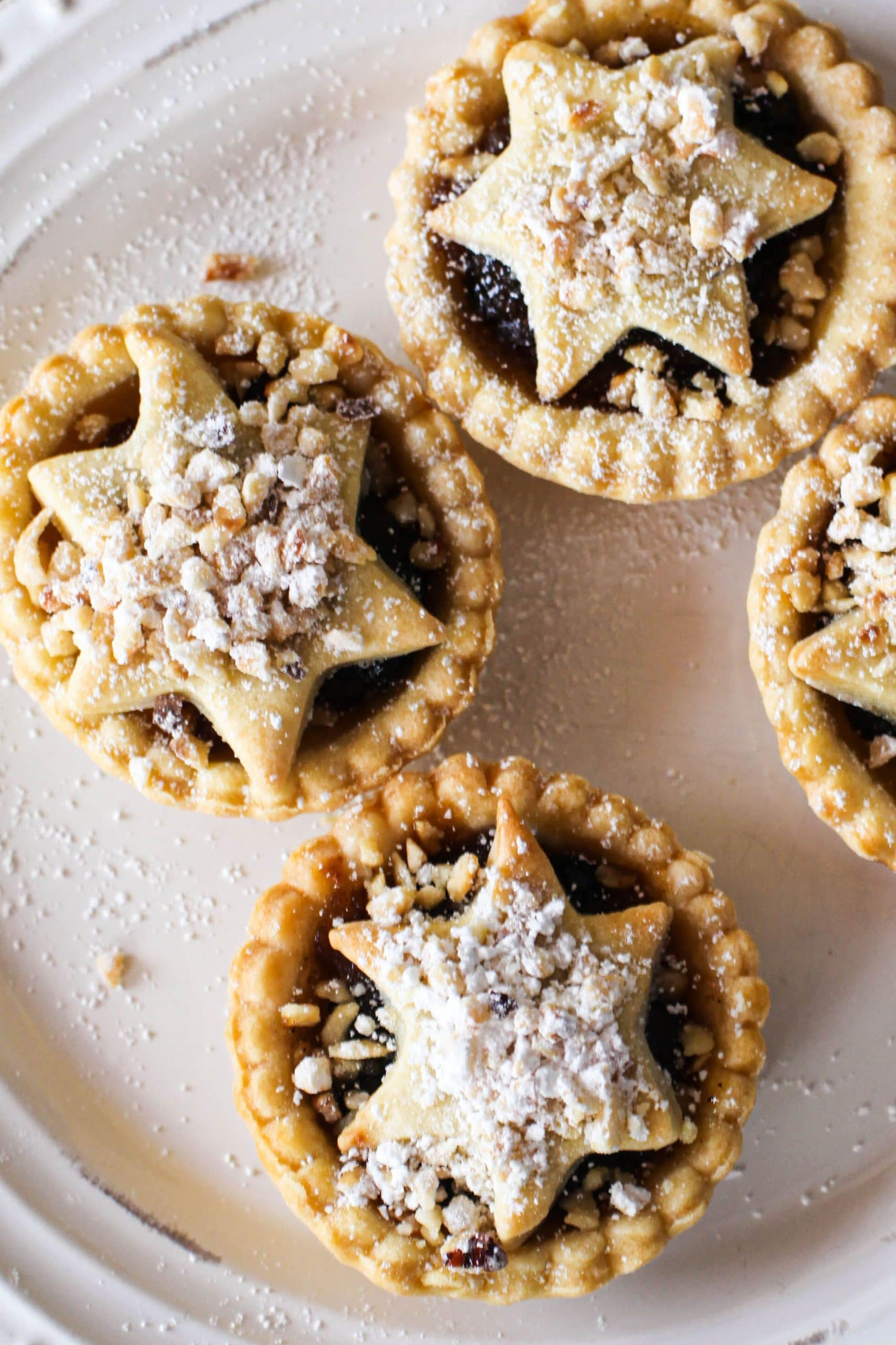 Nutty Vegan Mince Pies from Great British Vegan Cookbook (dairy-free)
